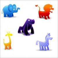 动漫animal动物图标素材