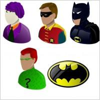 蜘蛛钢铁侠面具头像图标素材