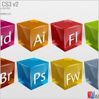 常用开发软件logo图标立体设计素材