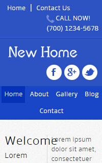html5手机酒店服务信息静态网页设计模板
