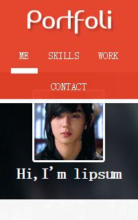 韩国手机网站html静态模板源码下载