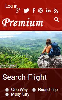 手机旅游网站html静态模板源码下载