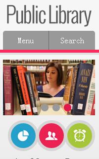 手机图书网站css3静态网页模板源码下载