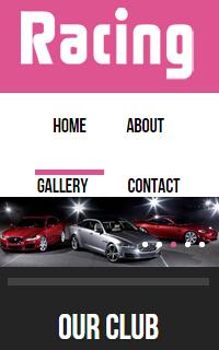 汽车企业手机网站WordPress静态模板源码下载