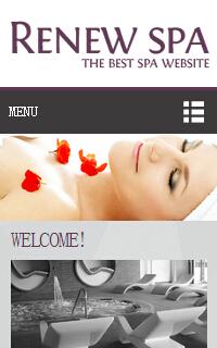 灰色女性面膜css3手机网页静态模板源码