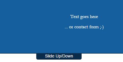 点击上下滑动展示提示信息的网页顶部固定图层jQuery插件代码