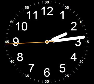 网页大屏html5css3特效时钟动画代码下载