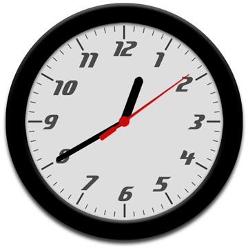 网页大屏时钟特效代码插件html5css3下载