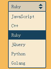 网页select下拉列表美化代码jQuery插件演示下载