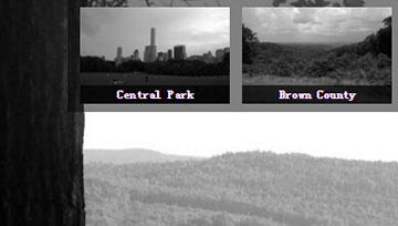 网页背景图片随小图渐变滑动切换而变化的网页特效代码