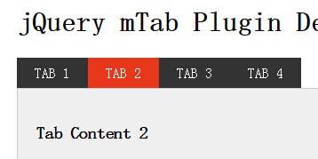 网页黑色table选项卡插件特效代码