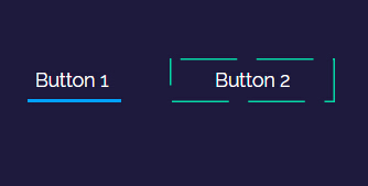 鼠标悬浮button按钮出现白色边框环绕效果的网页代码