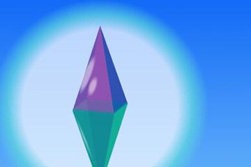 css3仿钻石旋转动画特效网页html样式代码