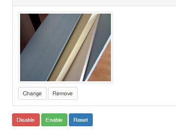 bootstrap网页图片上传控件样式特效代码