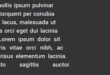 jquery文字不规则布局html5css3网页特效代码