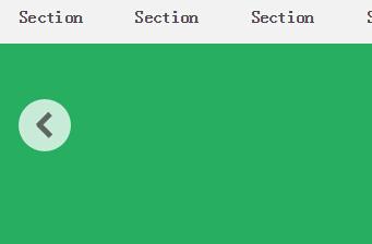 html静态网页全屏切换特效网页代码