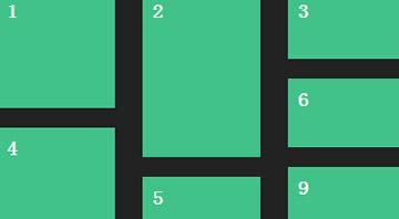 图片高度自适应布局排版的瀑布流插件jquery代码