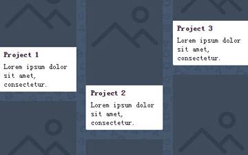 带标题和文字描述的图片瀑布流布局javascript控件代码