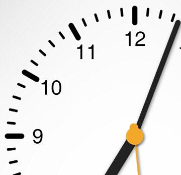 使用html5 canvas绘制网页时钟的javascript控件特效代码