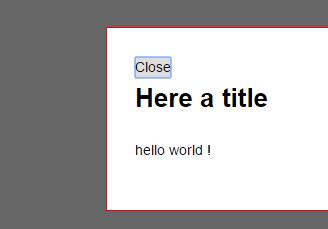 网站常用遮罩层弹窗提示javascript组件代码