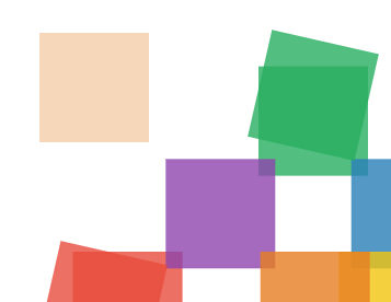 div渐变和动态旋转位置变化的css3动画特效代码
