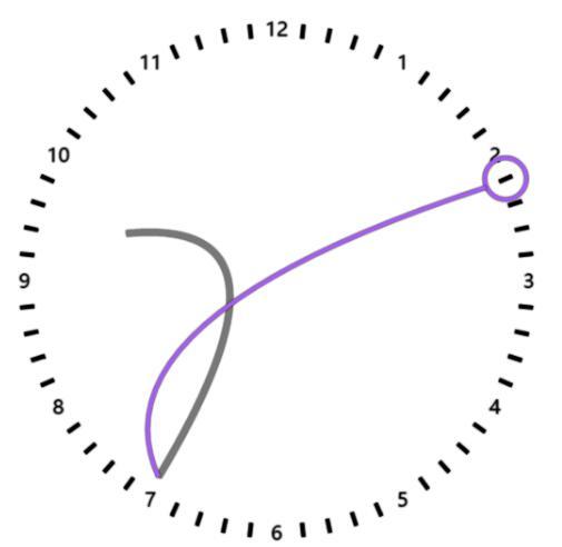 html5 canvas画布绘制时钟的js网页动画特效代码