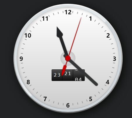 网页div标签绘制时钟的jquery特效代码
