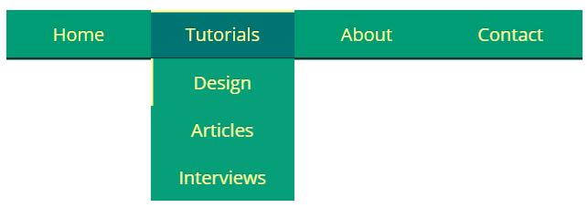 网页三级导航栏菜单css3动画样式代码