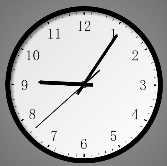 html5网页时钟插件javascript特效代码