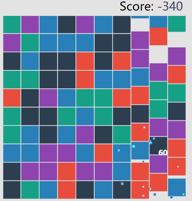 canvas绘制原色相同消消乐html5小游戏特效代码