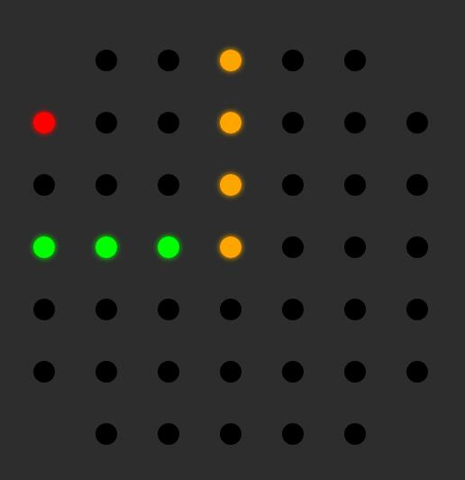 css3样式代码模拟LED时钟效果