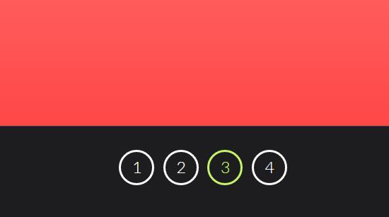 css3翻转网页幻灯片样式特效代码