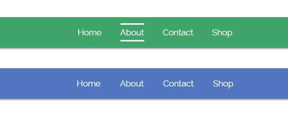 网站常用的css3导航条动画样式代码