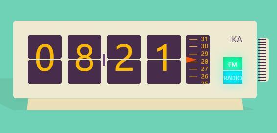 jquery刻度秒表网页计时html5代码