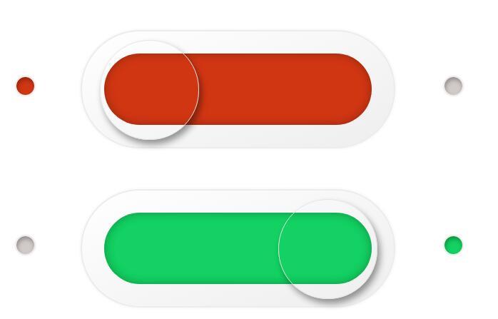 html5css3圆角开关透明按钮div样式代码