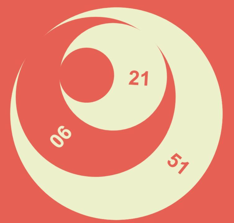 html5 svg绘制半月效果的时分秒旋转网页时钟代码