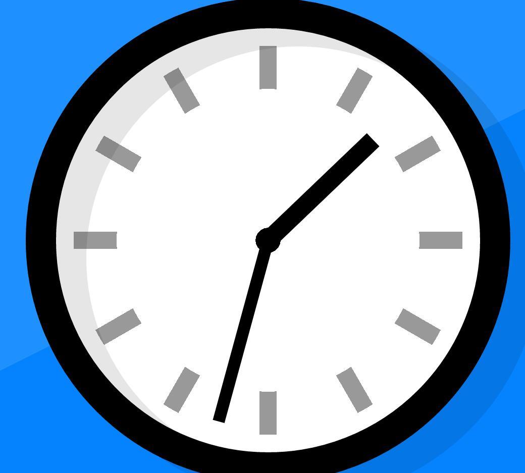 html5css3画圆形时钟样式代码
