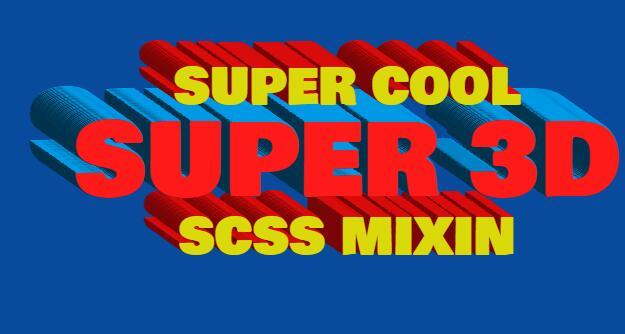 绘制网页文字3维立体图形效果的css3样式代码