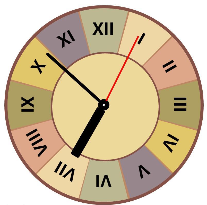 css3罗马数字圆形时钟代码javascript特效
