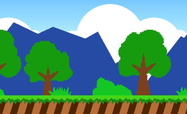 用css3设计制作冒险岛游戏场景画面的html素材代码