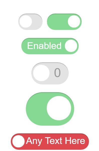 checkbox switch开关按钮css3动画样式javascript特效代码