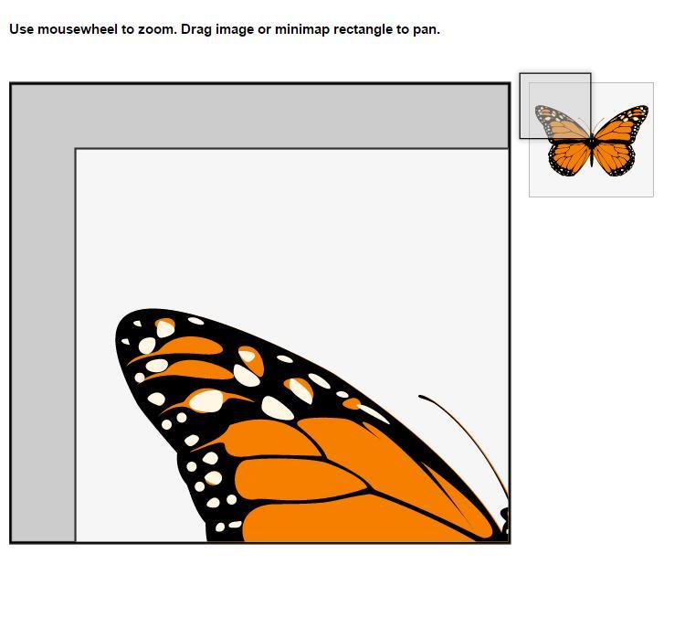 焦点放大镜图片展示的jQuery插件特效代码