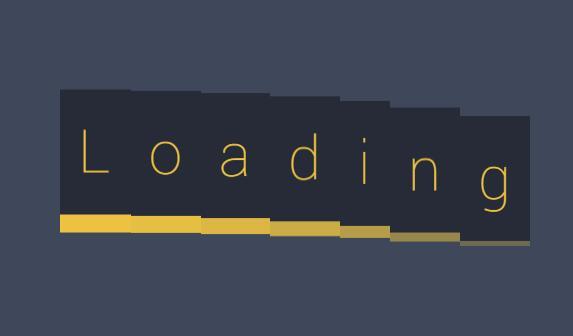 css3 loaing网页数据加载div图层动画效果html代码