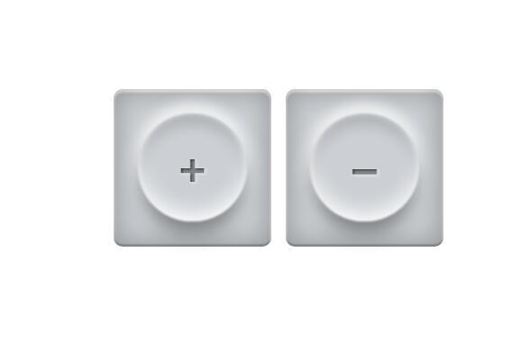 css3圆形阴影五子棋效果button按钮样式代码
