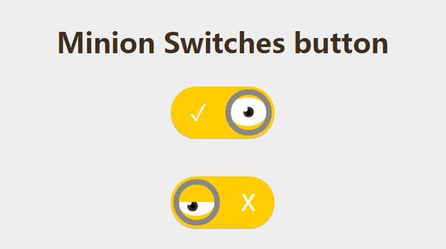 checkbox标签眼睛开关图标button按钮css3样式网页素材