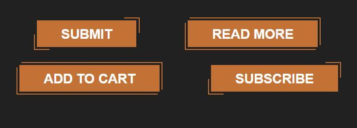 鼠标hover悬浮于button按钮时border边框动态变化的html代码