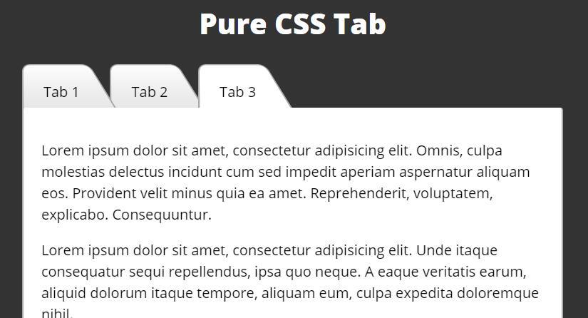 form表单radio标签制作tab选项卡图层切换效果的div css样式代码