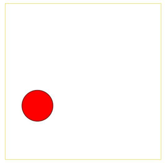 html5 canvas绘制圆形在方框内自由飘动效果的javascript特效代码