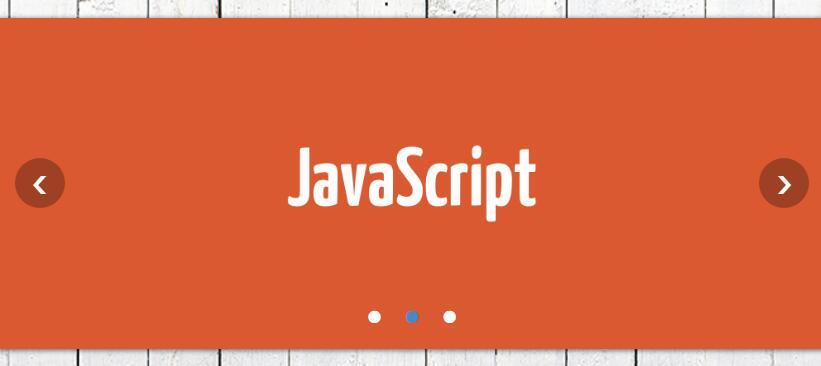html css木板背景风格网页图片左右循环轮播切换效果的焦点图代码