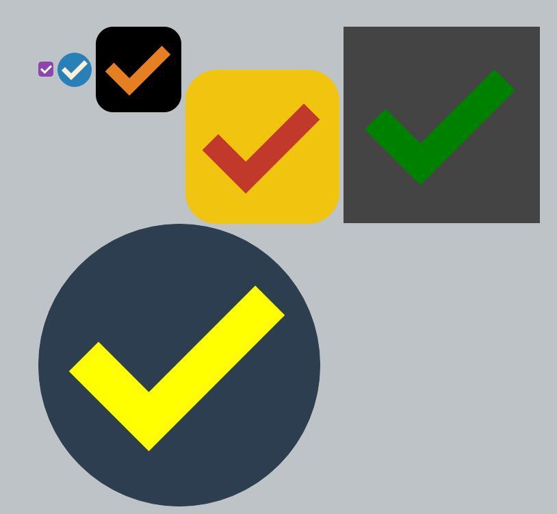 form表单checkbox标签美化后的html5css3样式代码